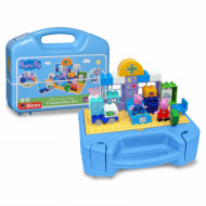 Set de constructie portabil Big Bloxx cabinetul medical al lui Peppa Pig
