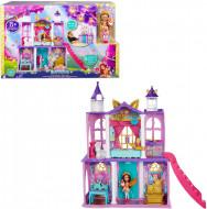 Set de joaca Castelul Enchantimals Royal cu papusa Felicity Fox