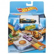 Set de joaca Intersectia Cyborg Hot Wheels City