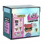 Set de joaca LOL Surprise Furniture Classroom cu papusa Teacher's Pet Seria 3