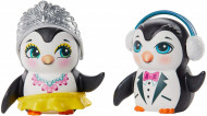 Set de joaca Patinatori pe Gheata Enchantimals cu Papusi Preena Penguin si Patterson Penguin