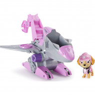 Set de joaca Skye si Super vehiculul Rev-Up Paw Patrol Dino Rescue - Patrula Catelusilor