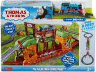 Set de joaca Thomas & Friends Podul mergator Fisher Price cu trenulet Thomas