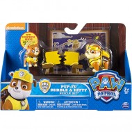 Set Figurine Arte Martiale Rubble si Kitty Patrula Catelusilor