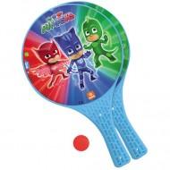 Set rachete tenis din plastic cu minge Eroi in Pijama