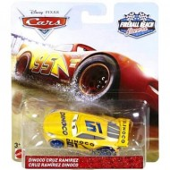 Masinuta metalica Dinoco Cruz Ramirez Fireball Beach Racers Disney Cars 3