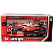 Masinuta Ferrari F1 Dispenzer Vettel 1/43 Bburago