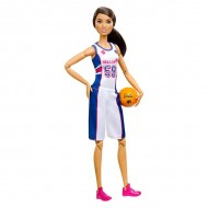 Papusa Barbie Made To Move flexibila baschetbalista - Complet Articulata