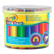 Set 24 creioane cerate Crayola Mini Kids Jumbo