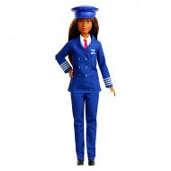 Barbie Cariere - Papusa mulatra in uniforma de pilot