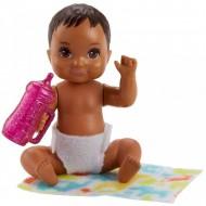 Barbie Skipper: Papusa bebelus brunet