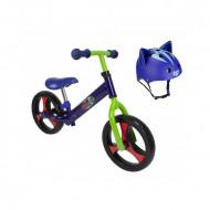 Bicicleta fara pedale si casca de protectie Eroi in Pijama