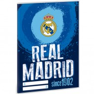 Coperta albastra FC Real Madrid A5