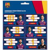 Etichete Caiet A5 FC Barcelona