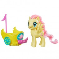 Figurina Fluttershy cu trasura My Little Pony