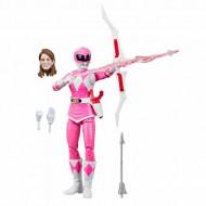 Figurina Power Ranger cu accesorii - Pink Ranger 15 cm