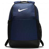 Ghiozdan rucsac Nike Brasilia albastru inchis, 46 cm