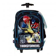 Ghiozdan rucsac troler Transformers Team Up, 3 compartimente
