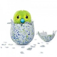 Hatchimals jucarie de plus interactiva Draguella in ou verde