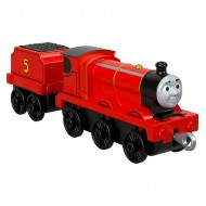 Locomotiva cu Vagon Metalica James Push Along Thomas&Friends Track Master
