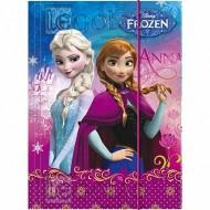 Mapa cu elastic A4 Ana si Elsa Frozen
