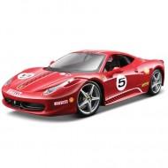 Masinuta Ferrari 458 Challenge Rosu 1/24 Bburago