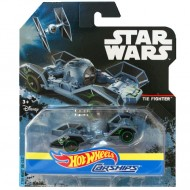 Masinuta TIE Fighter 1/64 Hot Wheels Star Wars Carships