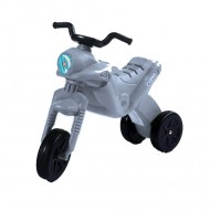Motocicleta fara pedale Enduro Maxi Gri