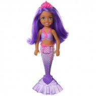 Papusa Barbie Chelsea Dreamtopia sirena mov