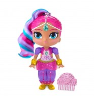 Papusa Shimmer cu parul colorat : Shimmer and Shine