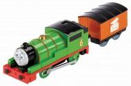 Percy Trenulet Locomotiva Motorizata cu Vagon Thomas&Friends Track Master