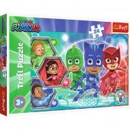Puzzle Eroi in Pijama 24 piese - Transformarea