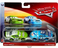 Set 2 Masinute Brick Yardley & Cal Weathers Disney Cars