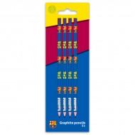 Set 4 creioane grafit F.C Barcelona