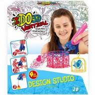 Set 4 Creioane IDO3D Vertical Fete - Design Studio 3D