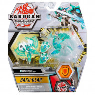 Set Bakugan Armored Alliance Baku-Gear figurina Eenoch Ultra alb