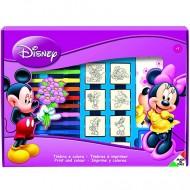 Set creativ 22 de piese Minnie Mouse