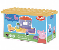 Set de constructie Big Bloxx Peppa Pig camera lui George