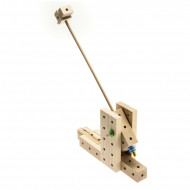 Set de constructie din lemn Matador Explorer - Catapulta