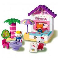 Set de cuburi Terasa cu inghetata Hello Kitty Unico
