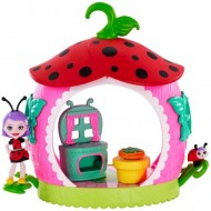 Set de joaca bucataria papusii Ladelia Ladybug - Petal Park - EnchanTimals