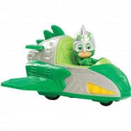 Set de joaca Eroi in Pijama, masinuta Gekko Mobile si figurina Sopi (Gekko)