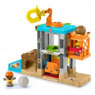 Set de joaca Fisher-Price Little People - Santierul de constructii
