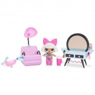 Set de joaca LOL Surprise Furniture Salon de infrumusetare cu papusa Diva Seria 1
