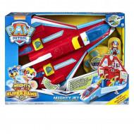 Set de joaca Paw Patrol Mighty Pups - Ryder si avionul transformabil 2 in 1