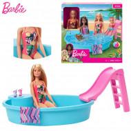 Set de Joaca Piscina si papusa Barbie