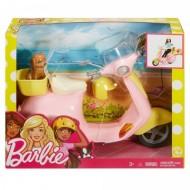 Set de joaca Scuter cu catelus Barbie