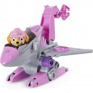 Set de joaca Skye si Super vehiculul Rev-Up Paw Patrol Dino Rescue - Patrula Catelusilor