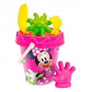 Set de nisip roz Minnie Mouse