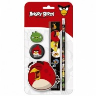 Set de Papetarie Angry Birds 4 Bucati